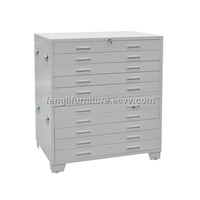 Horizontal Plan Steel File Cabinet