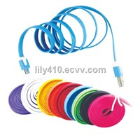 Colorful  Mirco USB Flat Data Cable