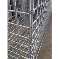 Welded Mesh Stone Baskets With Square Mesh Hole