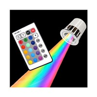E27 3w remote control RGB led bulb lamp