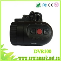 2014 DVR-100 Car DVR with 420 P 120 Degree Wide Angle Camera,car recoder with 1280*720 resolution