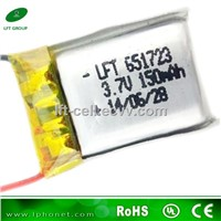 15c lipo 651723 3.7v 150mah rc lipo battery for Nano 4CH RC Quadcopter