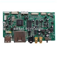 PCBA DVD, 1 to 22 Layers PCB Layout Circuit Boards