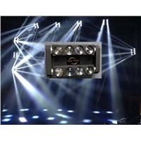 WHITE 8x10W LED butterfly Spider beam bar dual heads /dj/disco lighting
