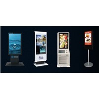Advertising Display Kiosk Lobby Information Kiosk Floor Standing for Public Place