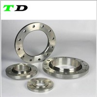 Stainless steel cnc machining flange