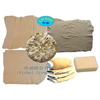 100% Fish Oil Tanned Car Cleaning Cloth Chamois Leather