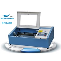 1.SPS40B mini laser engraving machine for rubber stamp