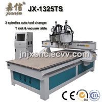 JX-1325TS JIAXIN Factory supply Wood cnc router/Door carving machine