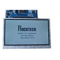 "4.3"" TFT LCD Module with Touch Panel, GPS TFT, POS TFT LCD"
