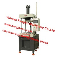 Double Acting CNC 4-columns Hydraulic Press Machine