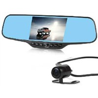 High quality full HD 12M Pixel car recorder camera GT6-B 4.3inch screen