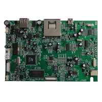 PCB Assembly/Printed Circuit Board with PCBA Assembly Services, 74x74mm Maximum BGA Size