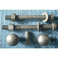 Zinc Plated Hex Head Guardrail Splice Bolt