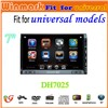 7inch Double Din Universal Car Radio with GPS Bluetooth IPOD MP3 MP4 DVD player DH7025