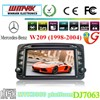7'' in-dash special car dvd player for Mercedes-Benz 1988-2004 DJ7063