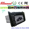 7'' in-dash special car dvd player for Mercedes-Benz B200 DJ7070