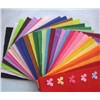 Colored Polyester needle punched felt for children handmade craft
