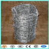 Hot Dipped Galvanized Barbed Wire fencing roll ( Factory )