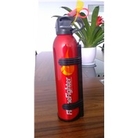 Car/auto fire extinguisher aluminum