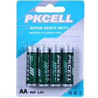 Battery carbon zinc dry battery aa battery r6p
