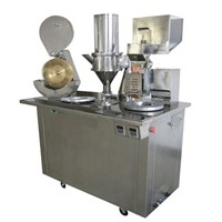 semi auto capsule filling machine