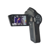 handheld ture color  thermal imaging camera with 3.2inch LCD screen