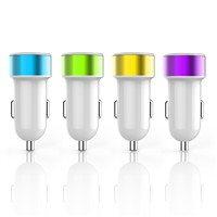 New invention with CE/FCC/ROHS for mobilephone 5v 2.4a universal usb car charger