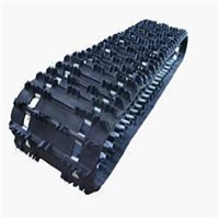 The popular rubber tarck(384*63.5*48) for snowmobile