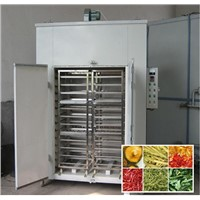 The vegetable and fruit drying machine