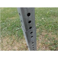 metal square sign post
