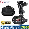 New mini CAR DVR C600 Full HD IR LED Vehicle CAM Video Camera with G-Sensor night vision