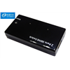 household mini HDMI Switcher 2x1 2 inputs 1 outputs hdmi 1.3v black plastic case