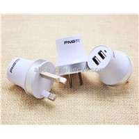 PNGXE wholoesale usb charger usb travel charger for iphone with APS and PC Material