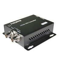 HDMI to 3G/HD SDI Converters support maximum 8-channel HDMI embedded audio