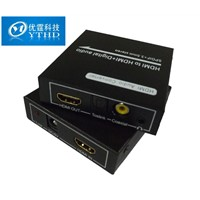 HDMI to HDMI+ Digital audio (SPDIF + 3.5mm stereo ) hdmi to spdif converter