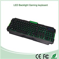 Mix Three Colors Wired USB LED Backlit Keyboard