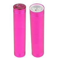 Ultra bright LED Flashlight and USB fashion mini colorful 2200mAh power bank