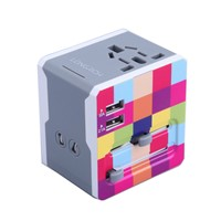 Hottest Universal Travel Adapter, New design coming A7
