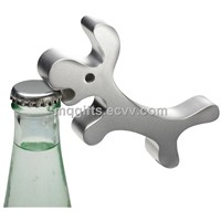 Custom Dog Shape Zinc Alloy Keychain with Bottle Opener