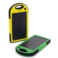 Solar Power Bank Portage Waterproof Power Bank