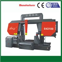 column style( gantry type) horizontal metal band saw machine G42100