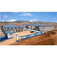 K style prefabricated house-dormitory, office, apartment