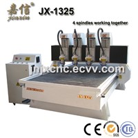 JX-1325F-4 JIAXIN 4 Heads Woodworking CNC Router