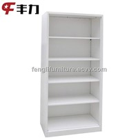 Open Shelf Steel Filing Bookcase