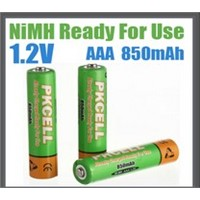 Ready to Use NiMh Rechargeable Battery AAA/850mAh