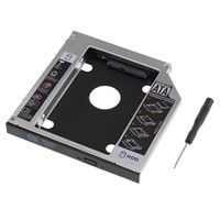 Universal 2nd Hard Disk Drive Caddy For Laptop 12.7mm SATA  CD / DVD-ROM Optical Bay