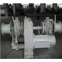 marine mooring winch, towing winch, marine hydraulic anchor windlass and mooring capstan
