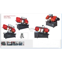 single cylinder horizontal metal band sawing machine