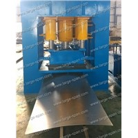 metal door plate hydraulic pressing machine